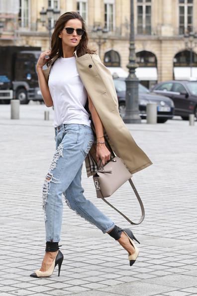 Izabel+Goulart+Outerwear+Trenchcoat+iJca_LZsvHAl